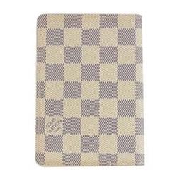 ルイヴィトン CA2110 N60032 ダミエ アズール クーヴェルテュール パスポートケース 画像
