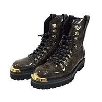 ルイヴィトン 靴 LV OUTLAND ANKLE BOOTS アウトランド モノグラム アンクル ブーツ 画像