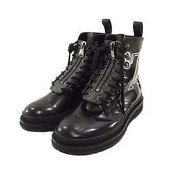ルイヴィトン BM0138 Ankle Boot ブラックアイス ライン アンクル ブーツ 画像